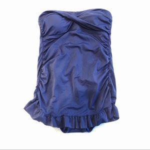 Jantzen   Strapless One Piece Bathing Suit Sz L